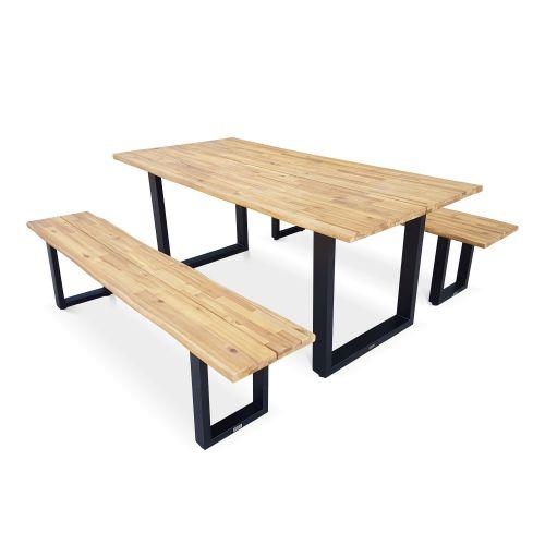 Mobilier de jardin Balcon Tidyard Table de Pique-Nique avec ...